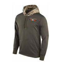 Chicago Bears Hoodies Men's Sweatshirts Salute to Service Sideline Pullover Coat