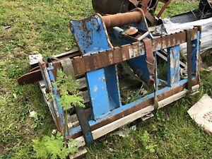 Excavator Pallet Forks 80mm Pins