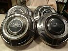 67-72 Ford Truck F250 F350 Dog Dish Poverty Hubcaps, set of 4