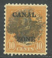 U.S. Possession Canal Zone stamp scott 104 - 10 cent Monroe issue of 1930