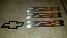 93-97 Camaro Z28 Front And Rear Emblem Set
