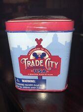 DISNEY VINYLMATION 3'' 3 Inch Tin Trade City USA Event Le 2010 Patriotic Flag