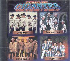 Pesado Invasores Intocable Tigrillos Duelo de Gigantes CD New Nuevo sealed