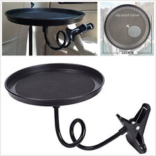 Multifunction Car Travel Food/Drink/Coffee Swivel Mount Holder Tray 360° Table