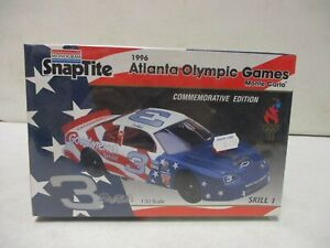 Monogram Snaptite Dale Earnhardt 1996 Atlanta Olympic Games Monte Carlo 1/32