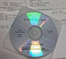 RADIO SHOW: JAZZ STAGE:CLASSICAL APPROACH 12/10/04 DUKE ELLINGTON,GERRY MULLIGAN