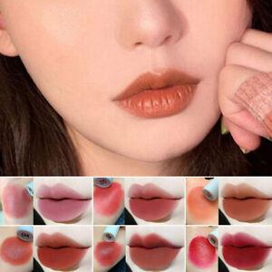 Nude makeup lip glaze  light appearance long lasting waterproof velvet matzh