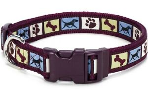Douglas Paquette DOG MOTIF Nylon & Ribbon Adjustable Dog Harnesses Leads Collars
