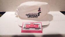 OPERATION LIFESAVER RAILROAD BALL CAP