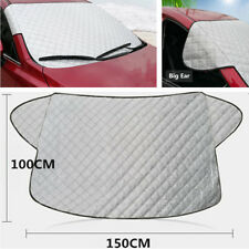 150 x 100cm Auto Car Dust-proof Frost-proof Snow Cover Windshield Protector PVC