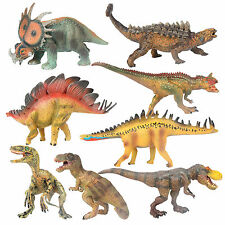 Newest Assorted Dinosaur Playset Toy Animals Action Figures T-rex Triceratop 1pc