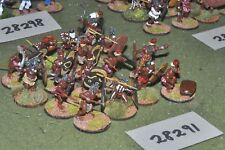 25mm Colonial/más oscuro África-guerreros tribales 16 figuras-INF (28291)