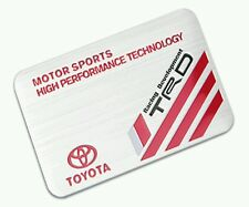 3D Laxury TRD Toyota Racing Development Aluminum Emblem Badge Sticker Decal Logo