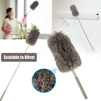Ceiling Fan Duster Soft Microfiber 30.5-80cm Telescoping Extension Cleaning Wash