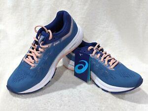 ASICS Women's GT-1000 7 Azure/Blue Print Running Shoes-Size 7/8/9/10 NWB WIDE(D)