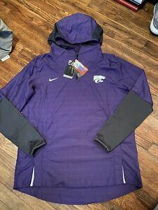 Nike Kansas State KSU On-Field Repel Pullover Purple Size Large [CQ5204-100] New