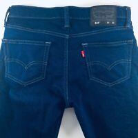 Levi Strauss & Co Levi's 510 Dark Blue Stretch Skinny Black Label W30 L32 Jeans