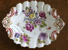 Assiette en Porcelaine Allemande Ancienne Hochst - Hoechst - Höchst - 18e Siècle