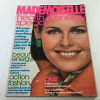 VTG Mademoiselle Magazine: April 1976 - Beautiful Fashion Cover No Label