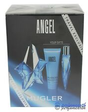 Angel by Thierry Mugler 3 Pces Set 1.6oz Edp Spray For Women New In Box