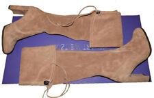 $790 Stuart Weitzman Hiline Over  Knee Boot Suede Boots Thigh High Booties 8.5