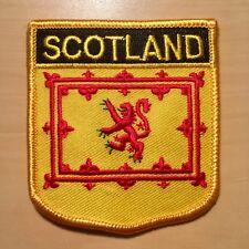 Schottland Löwe Aufnäher / Scotland lion flag patch Aufbügler Bügelbild Fahne