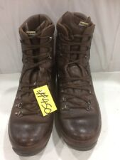 Used ALT-BERG  Defender Army Issue Brown Leather Combat Boots 8M Male #450