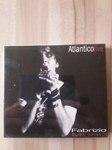 Fabrizio Moro Atlantico Live 2cd + DVD Live nuovo