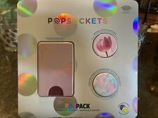 Popsockets Poppack - Popwallet, Popgrip & Swappable Poptop - Pink, Opal & Floral