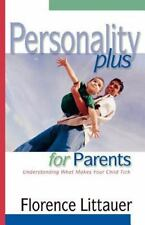 PERSONALITY PLUS FOR PARENTS by Florence Littauer FREE SHIPPING paperback book