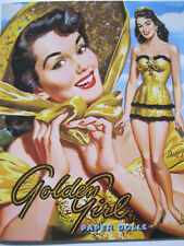 Gorgeous Golden Girl Vintage Reproduction Paper Doll Book-1950s Glamour!