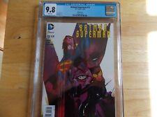 BATMAN/SUPERMAN #13 CGC 9.8 - VARIANT COVER!