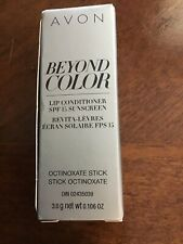 AVON  BEYOND COLOR LIP CONDITIONER SPF 15 SUNSCREEN NIB