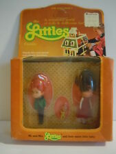 Vintage 1980 Mattel The Littles Family Mr.& Mrs.Littles & Baby MINT FACTORY SEAL