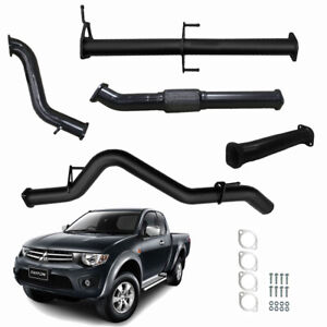 """MITSUBISHI TRITON MN 2.5L TD 3"""" INCH FULL EXHAUST WITH NO CAT / PIPE"""