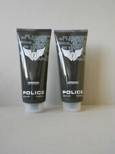 POLICE PURE Be Younique 2x 400 ml shower gel 800ml pour homme (100ml/€1,87)