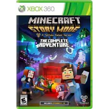 Minecraft: Story Mode ~The Complete Adventure~ All 8 Episodes Xbox 360 BRAND NEW