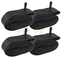 """(4) 26"""" inch Bike Inner Tube 26 x 1.75 - 2.125 Bicycle Rubber Tire Interior BMX"""