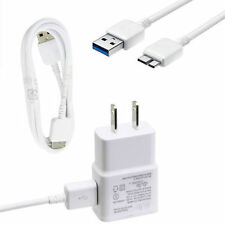 OEM Original Samsung Wall Charger + USB 3.0 Data Sync Cable For Galaxy S5 Note3