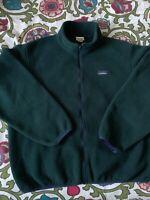 LL Bean Mountain Pile Fleece Jacket Mens Sz XL
