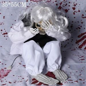 Halloween Decoration Props Voice Control Crying Ghost Scary Ghost Baby Ornaments