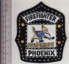 Firefighter Arizona Phoenix Fire Department & WHA Roadrunners Hockey Team Helmet