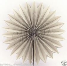 3 X PAPER TISSUE FANS CHRISTMAS NEW YEAR PARTY HANGING DECORATION EVENT WEDDING