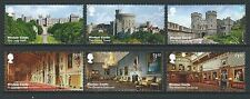 GREAT BRITAIN 2017 WINDSOR CASTLE SET IN SINGLES FINE USED