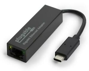 Plugable USB C Ethernet Adapter, Fast & Reliable Gigabit Connection