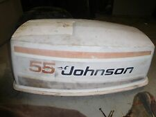 1977 Johnson 55hp outboard seahorse top cowling