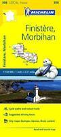 Finistere, Morbihan Michelin Local Map 308 (Michelin Local Maps) by Michelin, NE