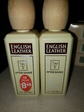 2 English Leather After Shave Splash For Men By Dana-8.0oz Brand New In Box