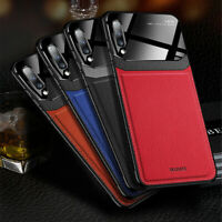 For Samsung Galaxy Note 10 Plus S9 Leather Shockproof Protective Slim Case Cover