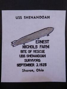 1925 U.S.S. ZR-1 Shenandoah Airship Fabric Piece 825